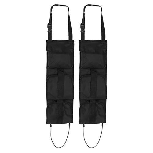 Bolsa de almacenamiento de herramientas, 2 juegos de bolsas de caza portátiles multifunción con bolsillos Organizador de asiento de automóvil Bolsa de almacenamiento al aire libre para una variedad de
