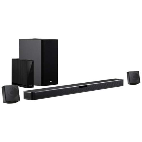 LG SN4R 4.1 Soundbar (420W Leistung, DTS Virtual:X, Wireless Subwoofer, Multi Bluetooth 4.0, HDMI, USB, optischer Eingang)