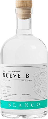 Tequila Nueve B Blanco - Premium Tequila aus 100% blauer Weber Agave - 38% vol. 0,7l Flasche