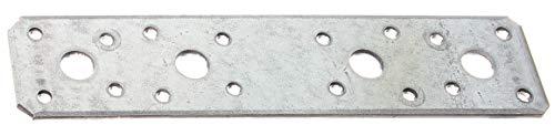 GAH-Alberts 330101 Flachverbinder | sendzimirverzinkt | 180 x 40 mm | 50er Set