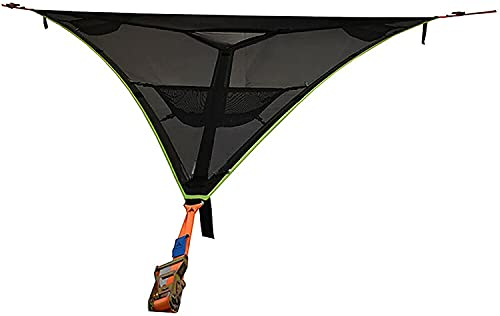 Giant Aerial Camping Hammock,Revolutionary Multi Person Portable Hammock 3 Point Design,Multifunctional Triangle Hammock for Camping, Travel, Backyard, Patio,Forest