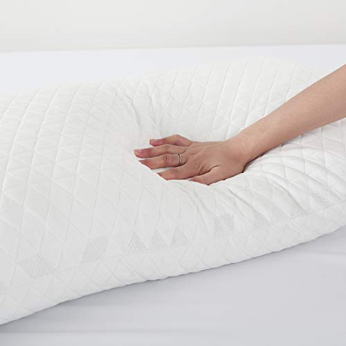 INGALIK Shredded Memory Foam Pillow for Side Sleeper with Cooling Gel review