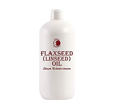 Mystic Moments Flaxseed (Linseed) Oil - 1 Litre - 100% Pure