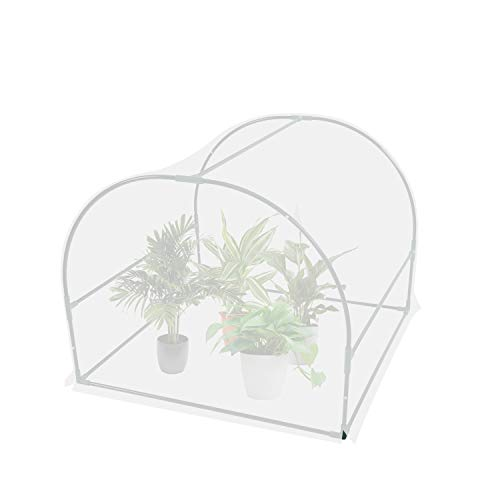 """Agfabric Greenhouses for Outdoors Greenhouse Kit Cold Frame Garden Greenhouse Mini Gardening Plant for Cold Frost Protector Gardening Plants (45"""" 45"""" 37"""")"""