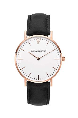 PAUL VALENTINE ® Reloj para Mujer Marina Rose Gold...