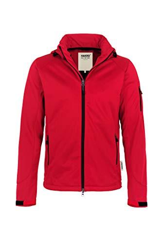HAKRO Softshell-Jacke Ontario - 848 - rot - Größe: 4XL