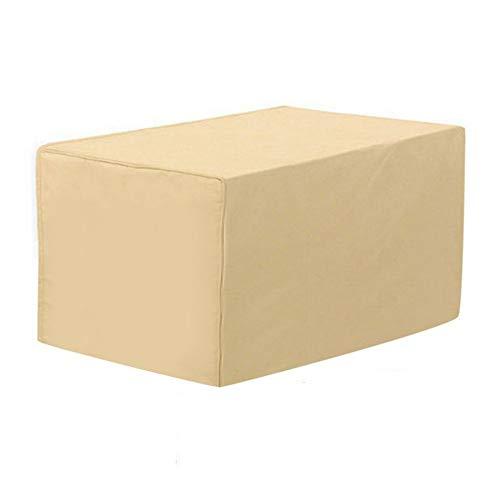 SAHWIN Fundas Muebles Jardín, Impermeable Cubierta De Exterior Funda Protectora Muebles 420D Oxford Resistente Al Polvo para Sofa De Jardin, Al Aire Libre, Mesa Y Sillas (122 * 76 * 46Cm)