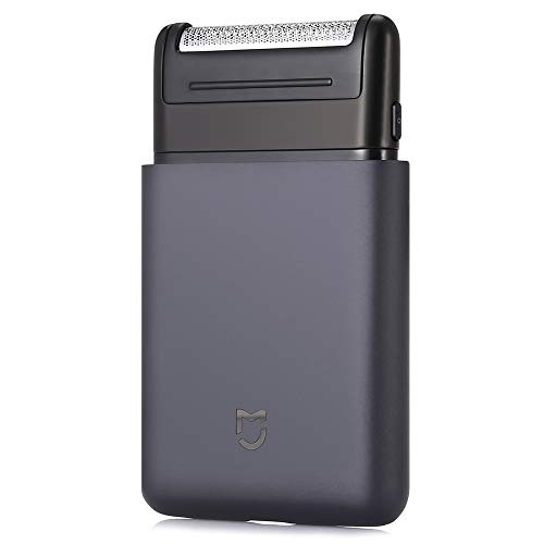 QLQ Elektrorasierer Rasierer USB aufladbare Smart-Mini Nassrasur Waschbar Bartschneider Mens Travel