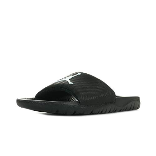 Nike Herren JORDAN BREAK SLIDE Basketball Flip Flop Mehrfarbig (Black/White 001) 41 EU