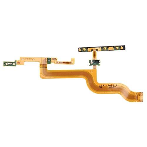 WSCHENG Botón de Encendido y botón de Volumen Reemplazo de Cable Flexible para SO/NY Xperia Z4 Tablet Ultra