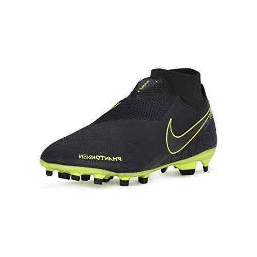 Nike Phantom Vision PRO Dynamic Fit Fg, Scarpe da Calcio Uomo, Multicolore (Black/Black/Volt 7), 43 EU
