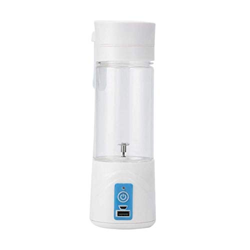 MZY LLC MYZ Juicer Machines, Fashion Portable Juicer Cup Rechargeable Battery Juice Blender 380Ml USB Juicer, Yellow
