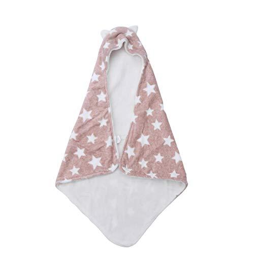 Healifty Wickeldecke Musselin Swaddle Wraps Baumwolle Baby Wickeldecke Handtuch für Neugeborene Babys (Kaffee)