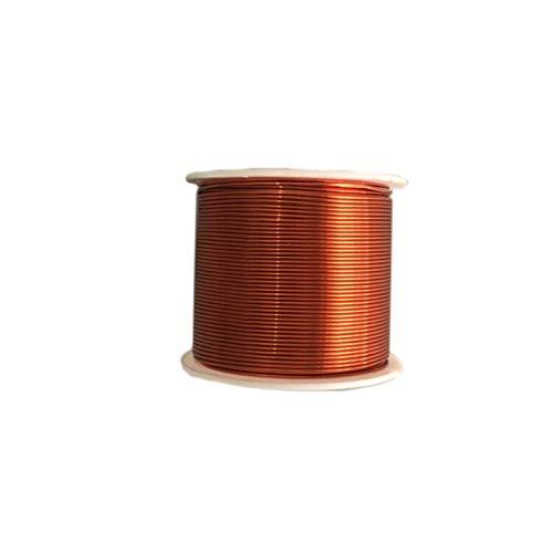 PYouo-Alambre de cobre Alambre de cobre de 50 m 20/15/10 / 5M, alambre de cobre esmaltado, alambre del inductor de la bobina magnética del transformador de la bobina del motor, la reparación del bobin