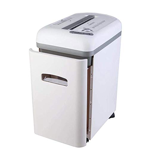 Review DDSS Paper Shredder, Dual Feed Electric Shredder Office Multifunctional Shredder Durable Sile...