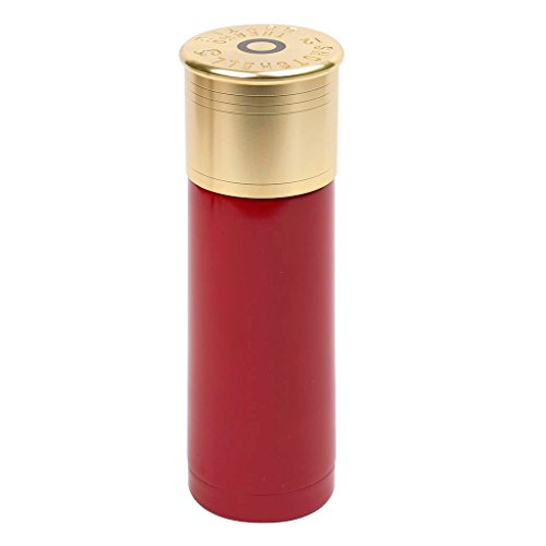 Stansport 12 Gauge Shotshell Thermo Bottle 25-Ounce - Red