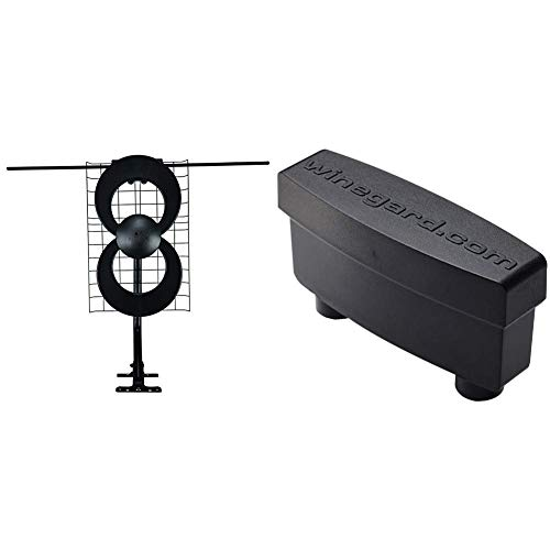 60 Mile Range ClearStream 2V Indoor//Outdoor HDTV Antenna with Mount