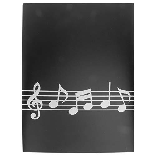 Holibanna A4 RozciÄ…gliwy Folder Z MuzykÄ… Pusty Arkusz Organizator PrzenoÅ›ny Muzyka Wynik Przypadku