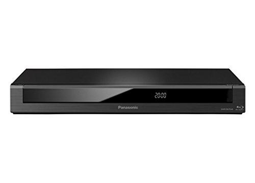 Oferta de Panasonic DMR-BWT640EC9 - Grabador de Blu-Ray (Full HD, 3D, Escaldo 4K, Disco Duro de 250 GB, Graba tus Programas Favoritos, TV Anywhere, Grabación Remota) Negro