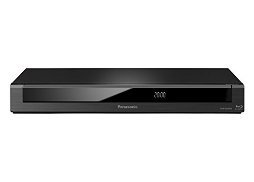 Panasonic DMR-BWT640EC9 - Grabador de Blu-Ray (Full HD, 3D, Escaldo 4K, Disco Duro de 250 GB, Graba tus Programas Favoritos, TV Anywhere, Grabación Remota) Negro