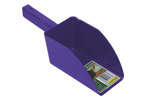 Jardin pelle à fond plat Violet