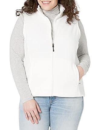 Amazon Essentials - Chaleco polar con cremallera completa para mujer