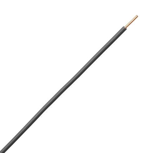 Kopp 154625009 Aderleitung H07 VU, 1 x 1.5 mm², 25 m, schwarz