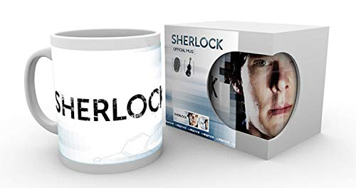 GB Eye Tasse mit Logo Sherlock, Mehrfarbig