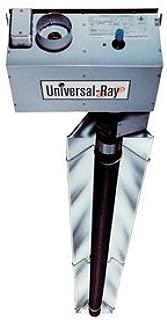 RH-150-40-N Single Stage Natural Gas 150,000 BTU 40' Long Radiant Tube Heater