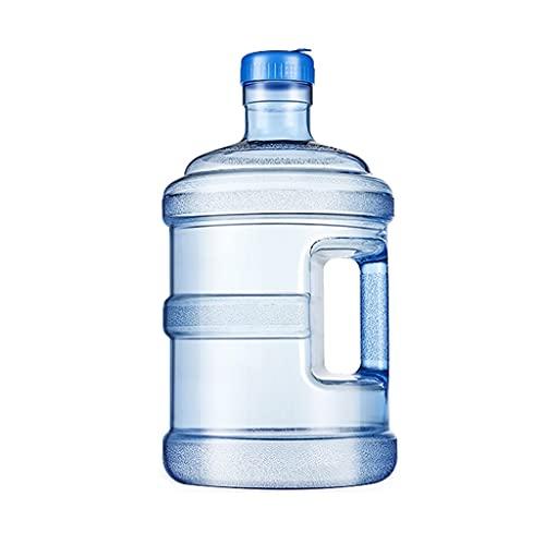 Contenedor De Agua dispensador de Agua Contenedor de agua Dispensador de contenedor portátil Portátil Cubierta de bebidas para el hogar 5L Cubo de agua PC Contenedor de agua de plástico Botella de agu