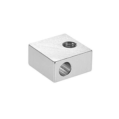 Aluminium Heizung Block 3D Drucker Heizblock für MK7 MK8 Extruder 3D Drucker Heißes Ende, 1 Stück