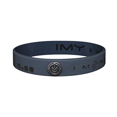 IMY Message Marken-Armband FAMILY vegan mit IMY-Logoniete