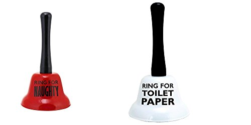 About Face Designs Ring for Naughty and Ring for Toliet Paper 2 Pc. Set