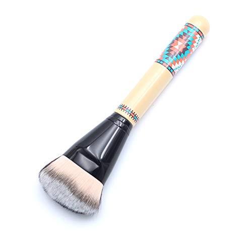 Pinceaux Maquillage Fibres Synthétiques De Chèvre Fendues Tribe Dense Face Cheek Blush Brushes Maquillage