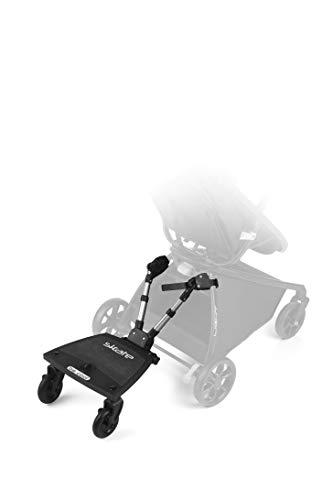 Be Cool 502 AAA Skate – Mitfahrbrett universal für Buggy und leichte Kinderwagen, rutschfest, schwarz, 502-AAA
