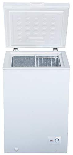 PKM Gefriertruhe 100L A+ Weiß 54,5cm breit Tiefkühltruhe Eisschrank freistehend