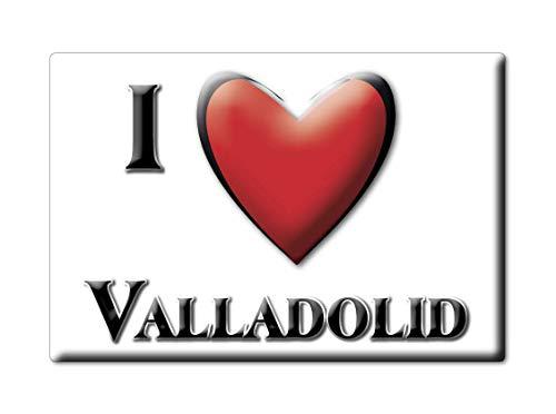 Enjoymagnets Valladolid (VA) Souvenir IMANES DE Nevera ESPAÑA Castilla Y LEÓN IMAN Fridge Magnet Corazon I Love