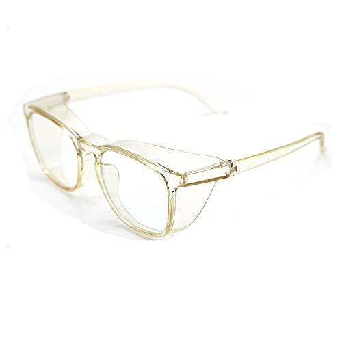 LSJA0 gafas luz azul transparente Protección de ojos Ultravioleta Anti-niebla Ordenador Juego Móvil Gafas