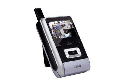 Media Express 711C Empfänger Monitor WLAN für Überwachungskameras Smart Guard Tracker Video, Schwarz