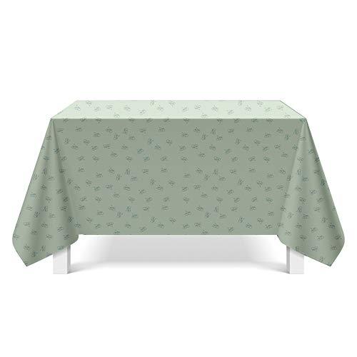 DREAMING-Leinwand Textur Kunst Tischdecke Haushalt Tischdecke Tv-Schrank Teetischdecke Runder Tisch Tischset 90cm * 140cm