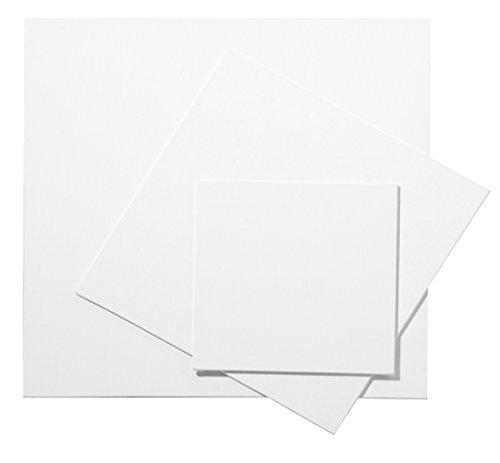 Pébéo 777210 Peinture 1 Carton Toilé Format Paysage Blanc