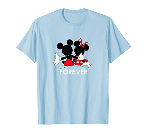 Disney Mickey and Minnie Mouse Silhouettes Forever T-Shirt