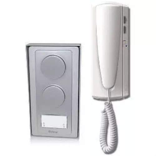 Golmar 11400001 AS-1220SII Kit de Audio de 1 o 2 Líneas, 12