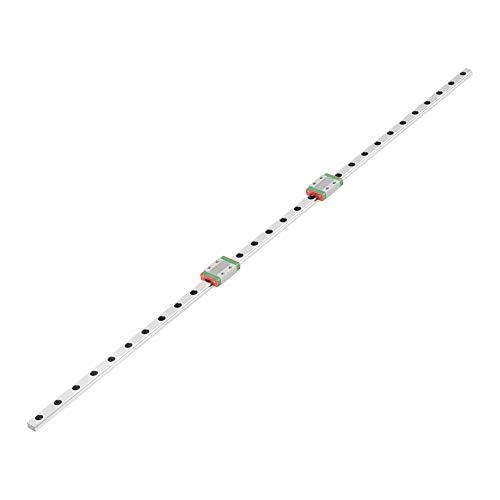 iFCOW LML9B 600mm guía lineal carril diapositiva carro CNC router con 2pcs bloque deslizante