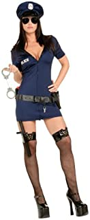 Women's Adult Officer Frisky Sexy Naughty Police Costume