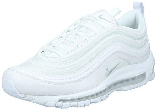 Nike Air MAX 97, Zapatillas de Running para Hombre, Blanco (White/Wolf Grey/Black 101), 44 EU
