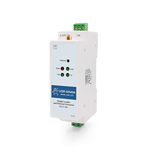 USR-DR404 Din Rail RS485 to WiFi Converters