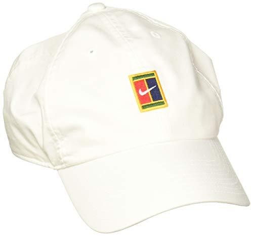 Nike U NK H86 Cap Court Logo Hat, White, MISC