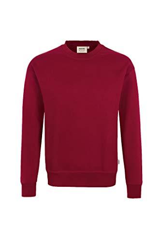 HAKRO Sweatshirt Performance - 475 - weinrot - Größe: M
