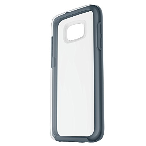 OtterBox Symmetry Clear Series Case for Samsung Galaxy S7 - Retail Packaging - Tempest Crystal (Clear/TEMPTEST Blue)